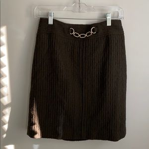 Size 2 Ann Taylor fully lined skirt size zip